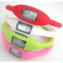 Bracelet Silicon LCD bracelet watch Any colour bracelet band to your PMS 500 per colour Printed in one colour with your logo LCD. Please Click the image for more information.