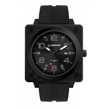 Aviator Retro Square cased matt black plated alloy 46mm case in the Retro Aviator style Standard with date movement . Please Click the image for more information.