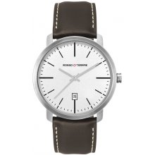 Denmark Sleek modern solid stainless steel case 5 ATM 50 meter water resistant case Large 42mm unisex case size Mat. Please Click the image for more information.