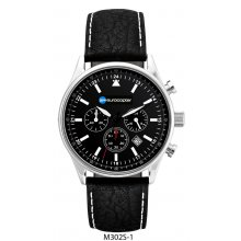 Prescott Chronograph 10ATM polished solid stainless steel case in both male 41mm and female 34mm case sizesThree eye Citizen Chronograph with single date . Please Click the image for more information.