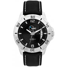 Conduit Sports Silver platted alloy case with rotating bezel in 41mm male and 33mm female case sizes Bands are in silicon rubber leather or stainless steel bracelet options S. Please Click the image for more information.