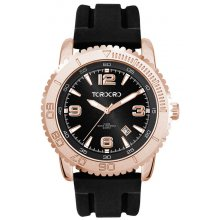 Frisco Gold Gold plated alloy case with 3 ATM 30 meter water resistant 44mm rotating bezel case 3 hands with single date Ma. Please Click the image for more information.