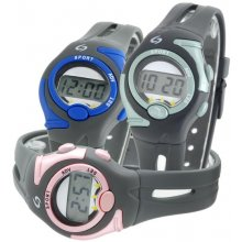 Event Kids/Female FemaleChild size Five function LCD SportsDay Date Hour Minute  Second functionsPlastic case and bands with contrasting trimWide range o. Please Click the image for more information.