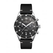 Alonso Three or two eye OS21OS20 Citizen Chronograph movement with single date Beautifully crafted black plated solid stainless steel 10 ATM 100 meter water resistant 42mm case Ma. Please Click the image for more information.