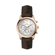 Rosberg Gold Three eye OS21OS20 Citizen Chronograph movement with single date watch in both male and female sizes . Please Click the image for more information.