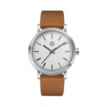 Barton Citizen 2035 3 hand or 1S13 Citizen 3 hand  movement with date Beautifully crafted solid stainless steel 5 ATM 50 meter water resistant 40mm case M. Please Click the image for more information.
