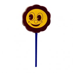 Lollipop milk chocolate - Sunny Boy $4.00. Solid milk chocolate lollipop with edible colour print  Please Click the image for more information.