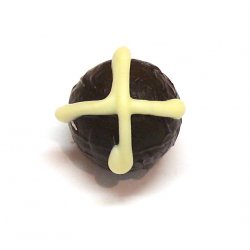 Easter Hot Cross Truffle:Dark-fruity plum & port Very fruity with the merest hint of alcohol very smooth textureOrder by the piece pick up only Otherw. Please Click the image for more information.