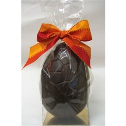 Plain dark chocolate hollow egg - 165mm high $21.00 Dark Chocolate hollow egg plain 165mm Please Click the image for more information.
