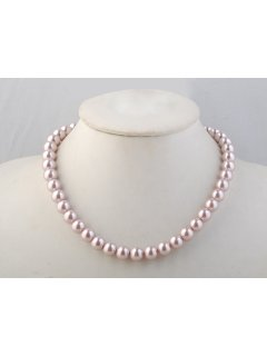 1018E Light Pink 10mm Pearl approx 18 Long Please Click the image for more information.