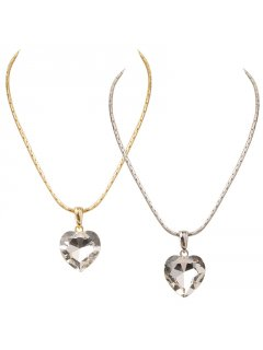 9919 Crystal Heart  GoldClear                        SilverClear                        GoldRed                        SilverBlue Please Click the image for more information.