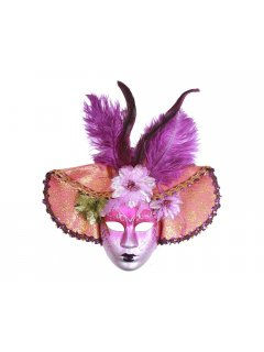 GW057 VENETIAN INSPIRED FULL FACE MASKSAVAILABLE IN BLACK PURPLE RED Please Click the image for more information.