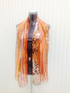 SS168A FASHION SCARVES IN BRIGHT ANIMAL PRINTS Please Click the image for more information.