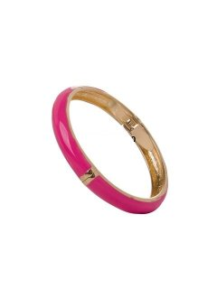 B0201E ENAMEL HINGED BANGLES IN VARIOUS COLOURS Please Click the image for more information.