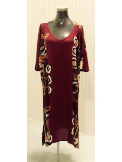 K018 Crinkle Rayon Dress  Burgundy3pce pack 1 x SMLXL Available for purchase seperately if required Please Click the image for more information.