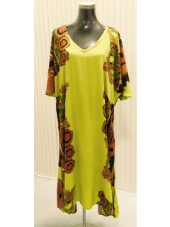 K018B CRINKLE RAYON DRESS  GREEN3PCE PACK  1X SMLXL AVAILABLE SEPERATELY IF REQUIRED Please Click the image for more information.