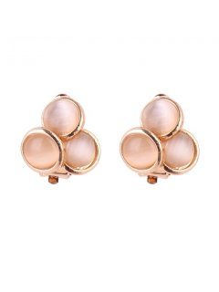 E0640 GOLD CLIP ON EARRING Please Click the image for more information.