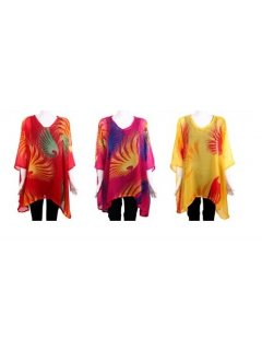 K036 kaftan set ONR CORAL ONE PINK ONE YELLOW Please Click the image for more information.