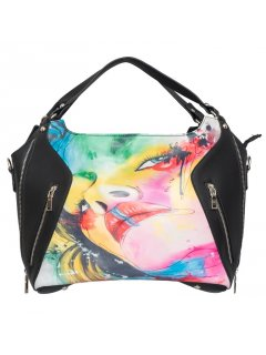 H0722D GYPSY MAE  LANA DOUBLE ZIP FRONT HANDBAG Please Click the image for more information.