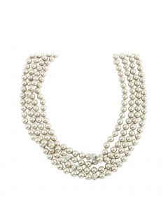 10812 CREAM PEARL XTRA LONG NECKLACE Please Click the image for more information.