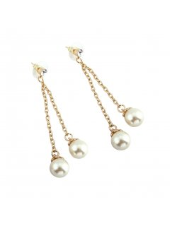 E0657B CREAM DROP PEARL EARRING Please Click the image for more information.