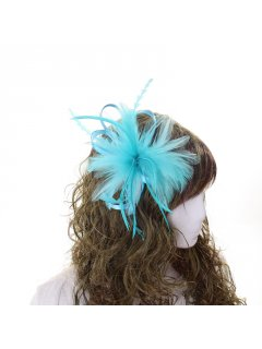 HA0269 BLUE FASCINATOR Please Click the image for more information.