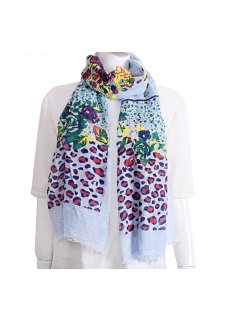 S228 BLUE SCARF  Please Click the image for more information.