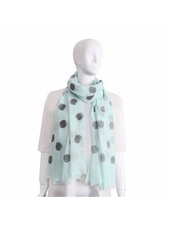 S227 LIME SPOTTED SCARF Please Click the image for more information.