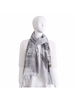 S224 GREY LONDON SCARF Please Click the image for more information.