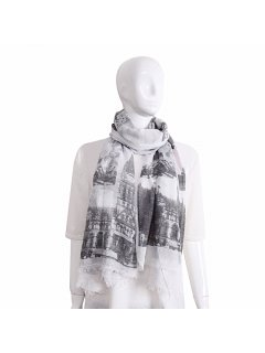 S223D GREY PARIS SCARF Please Click the image for more information.