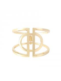 BB0223 GOLD CUFF BANGLE Please Click the image for more information.