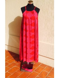 K064B CORALRED MAXI DRESSSOLD IN PACK OF 3AVAILABLE IN NORMAL FIT TO SIZE 16OR LARGE FT TO SIZE 22 Please Click the image for more information.