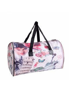 GW102B AUDREY PRINT DUFFLE BAG Please Click the image for more information.