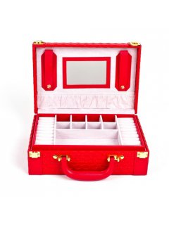 GW111A RED JEWELLERY BOX Please Click the image for more information.