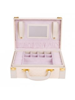 GW111B BEIGE JEWELLERY BOX Please Click the image for more information.