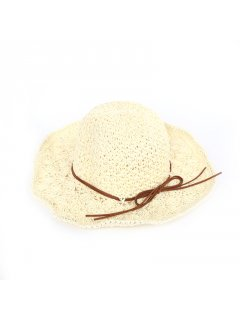 HA0249A CREAM SUMMER FLOP HAT Please Click the image for more information.