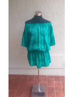 K098B GREEN RAYON SUMMER TOP  FREESIZE  PACK OF 3 Please Click the image for more information.