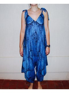 K085 BLUE CRACKLE JUMPSUITFREESIZE  PACK OF 3  Please Click the image for more information.