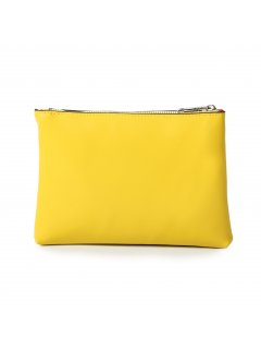 H0809I YELLOW LEATHER PURSE Please Click the image for more information.