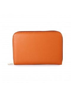 H0813B ORANGE OVERSIZED LEATHER WALLET Please Click the image for more information.
