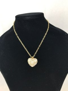 10090 GOLD DIAMONTE HEART NECKLAC Please Click the image for more information.
