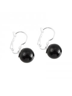 E0656A BLACK PEARL DROP EARRING Please Click the image for more information.