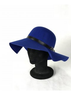 HA0281G THIS IS A GORGEOUS FELT WIDE BRIM HAT WITH A BELTED FEATURE THIS STYLE IS AVAILABLE IN 8 COLOURS NAVY BURGUNDY BLACK TAUPE FUCHSIA RED GREY AND COBALT. Please Click the image for more information.