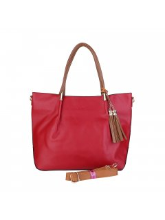 H0851B A Spacious Tote Bag with Featured Tassel Please Click the image for more information.