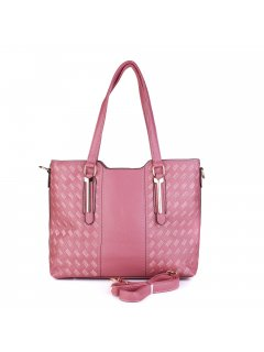 H0853C A Medium size tote with embroidered stitch detail Please Click the image for more information.