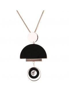 10854B ROSE GOLD NECKLACE  WITH FASHIONABLE DROP Please Click the image for more information.