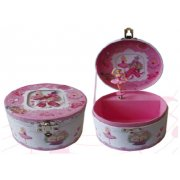 Ballerina Round Music Box  Please Click the image for more information.