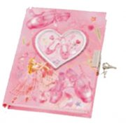 Ballerina Diary with Lock  Please Click the image for more information.