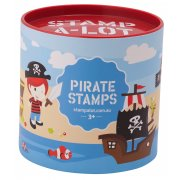 PIrate Stamp sets 10 stamps and 2 ink pads in a great container  never lose your stamps this way Please Click the image for more information.