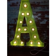 Vintage Marquee Lights Vintage Marquee Letter Lights come in any number letter or symbol and in a variety of colours They look great in childrens bedrooms or as an art piece for your home Gl. Please Click the image for more information.